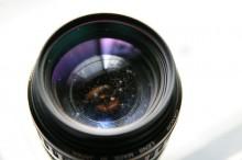 保管方法を誤りカビの生えたカメラ交換レンズ