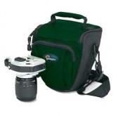おすすめのカメラケース、カメラバッグの種類 レンズをつけたままのデジタル一眼レフカメラがそのまま入る便利なカメラポーチ