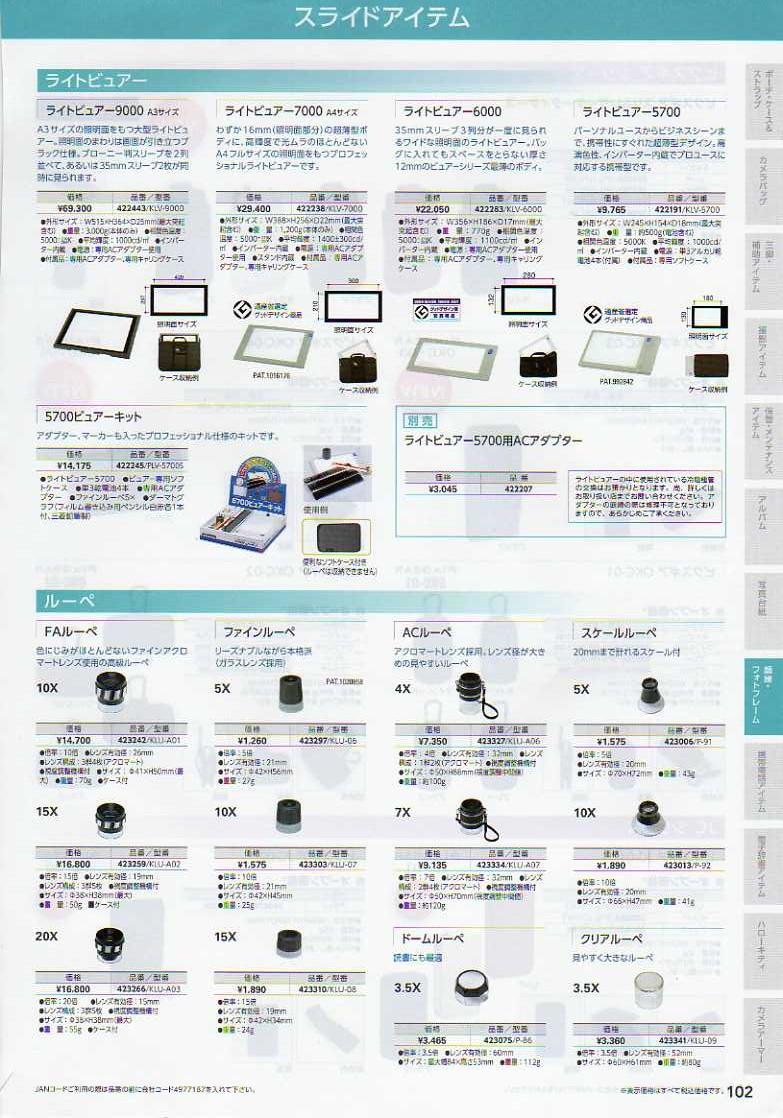 デジタル一眼レフカメラ比較・選び方入門 デジ一.com HAKUBA(ハクバ)2010年カタログ P102