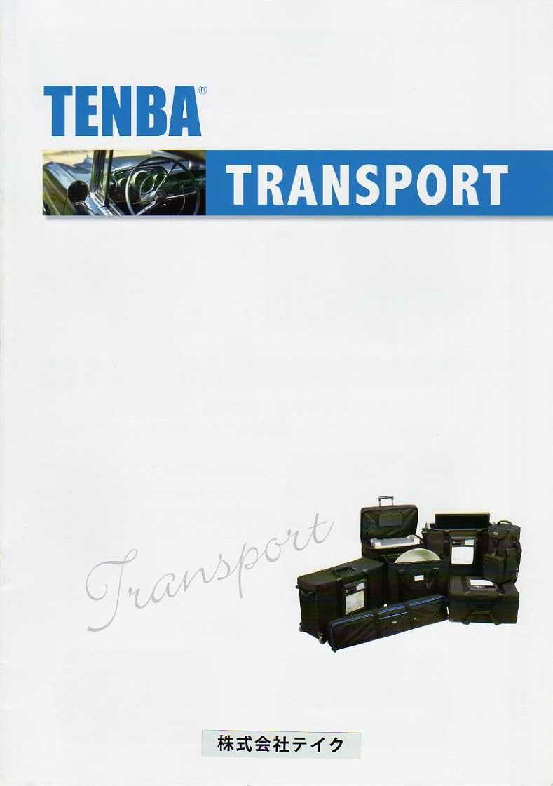 TENBA(テンバ)最新カタログ カメラケース・カメラバッグ 表紙