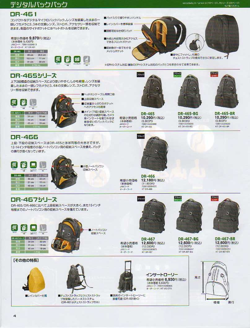 デジタル一眼レフカメラ比較・選び方入門 デジ一.com KATA(カタ)2009年カタログ P004