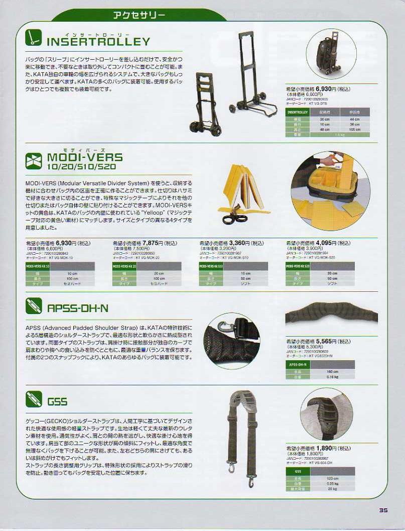 デジタル一眼レフカメラ比較・選び方入門 デジ一.com KATA(カタ)2009年カタログ P035