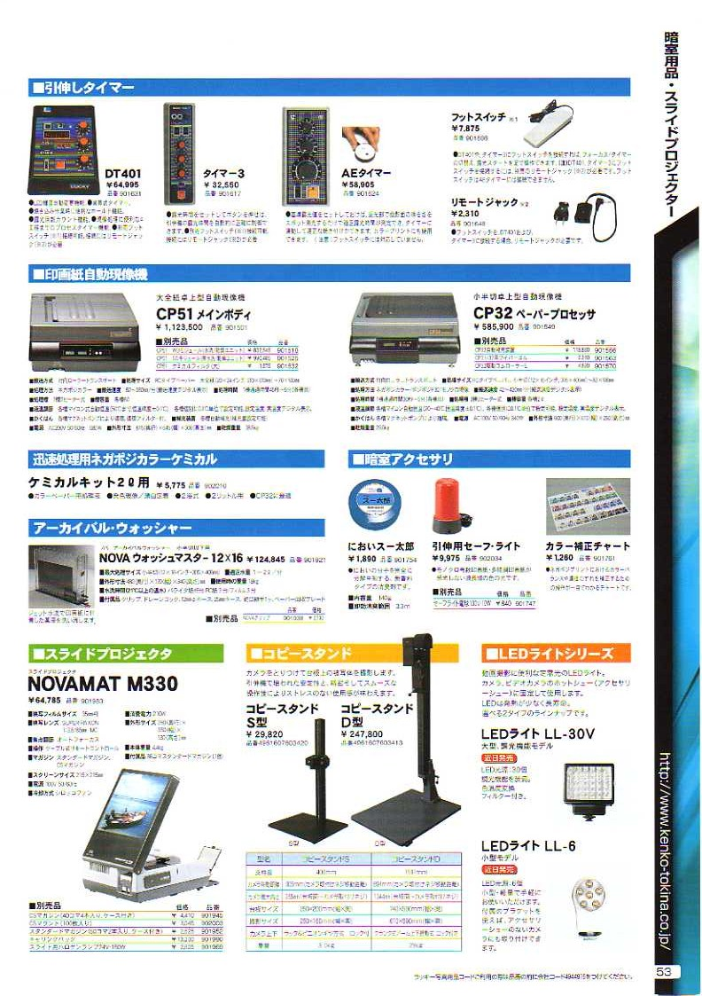 デジタル一眼レフカメラ比較・選び方入門 デジ一.com KENKO(ケンコー)最新カタログ P053