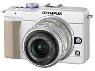 オリンパス(OLYMPUS) マイクロフォーサーズPEN E-PL1s(PEN Lite) ホワイト
