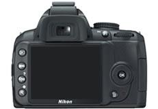 ニコン(nikon) デジタル一眼レフカメラ D3000 背面