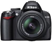 ニコン(nikon) デジタル一眼レフカメラ D3000 正面
