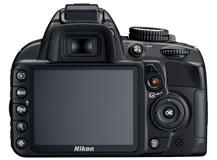 ニコン(nikon) デジタル一眼レフカメラ D3100 背面