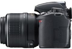 ニコン(nikon) デジタル一眼レフカメラ D3100 横