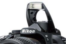 ニコン(NIKON) D3100の内蔵フラッシュ