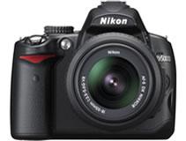 ニコン(nikon) デジタル一眼レフカメラ D5000 正面