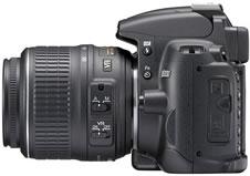 ニコン(nikon) デジタル一眼レフカメラ D5000 横