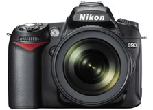 ニコン(nikon) デジタル一眼レフカメラ D90 正面