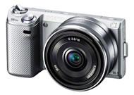 ソニー(SONY) ミラーレスカメラNEX-5N シルバー